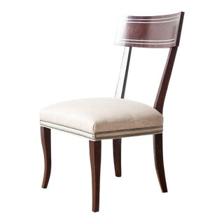 Blix Contemporary Upholstered Side Chair For Sale