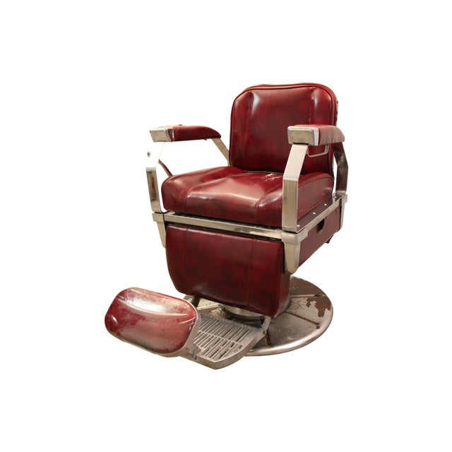 Vintage Mid Century Modern Narda Barber Chair - Image 1 of 11