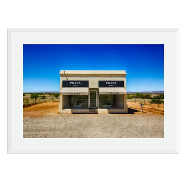 Prada in Marfa by M. Haupt Archival ink print on 100 % cotton Rag premium photographic paper. Guaranteed against fading....