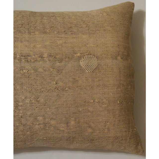 Rug Fragment Geometric Cream Pillow - Pair - Image 7 of 11