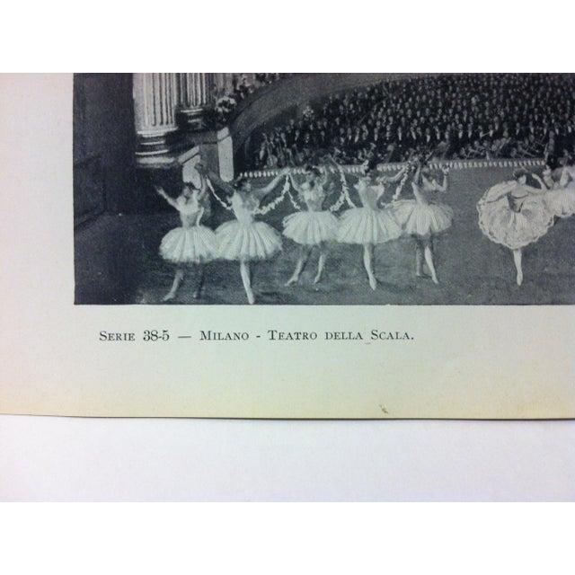 "Realism Circa 1930 ""Teatro Della Scala"" Print of Milano, Italy For Sale - Image 3 of 4"