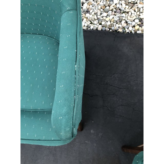 Green Mid Century Pearsall Style Chairs- Set of 3 For Sale - Image 8 of 13