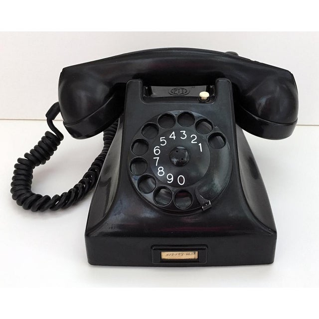Bakelite Telephone With Adapter For Sale - Image 9 of 9