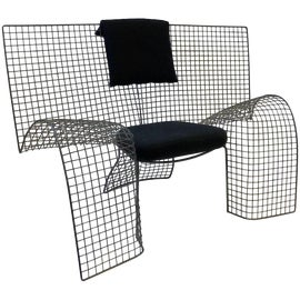 Image of Steel Club Chairs