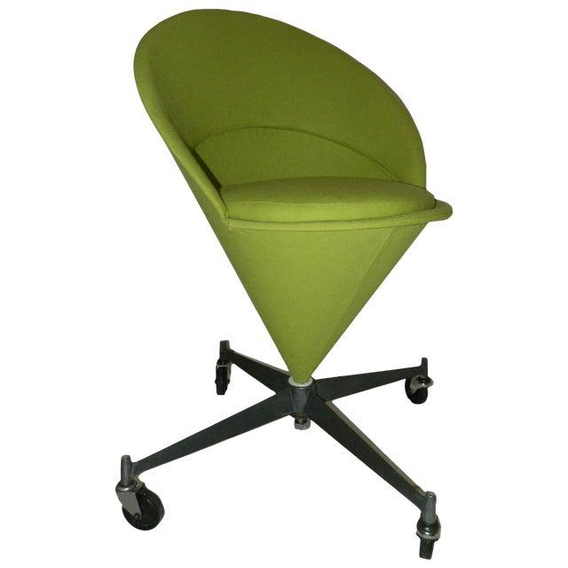 Vintage Verner Panton Cone Chair For Sale