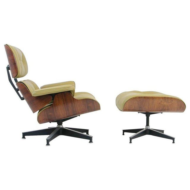 Early Production Model 670/671 Lounge Chair & Ottoman by Charles & Ray Eames For Sale - Image 13 of 13