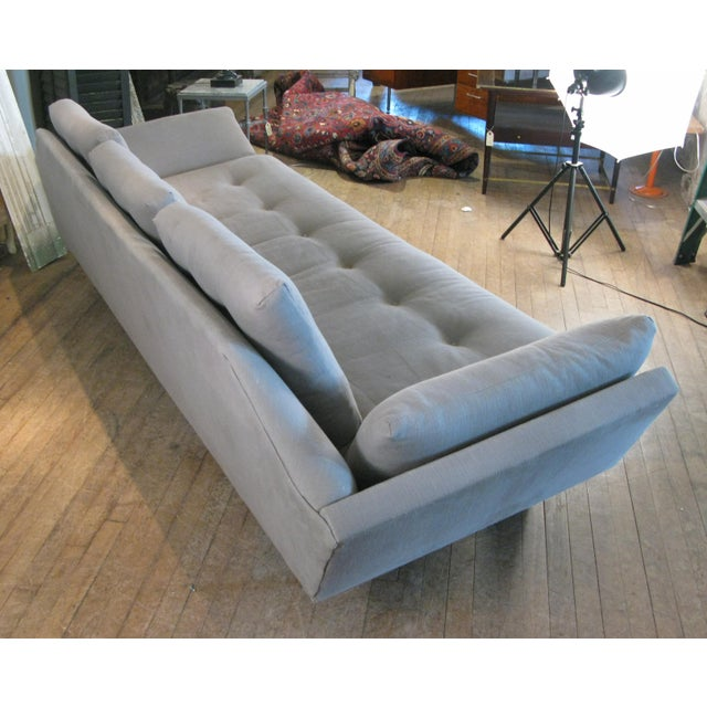 1950s Vintage 1950s Walnut Gondola Sofa by Adrian Pearsall for Craft Associates For Sale - Image 5 of 8