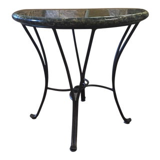 Stone Top End Table For Sale