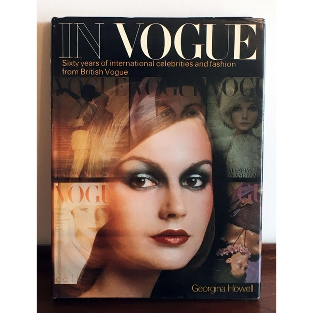 Mid-Century Modern In Vogue: Sixty Years of International Celebrities and Fashion From British Vogue Coffee Table Book For Sale - Image 3 of 10