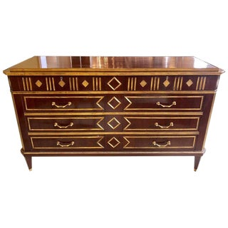 Monumental Russian Neoclassical Style Commode or Chest in the Louis XVI Style For Sale