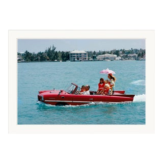 """Slim Aarons, """"Sea Drive,"""" January 1, 1967 Getty Images Gallery Framed Art Print For Sale"""