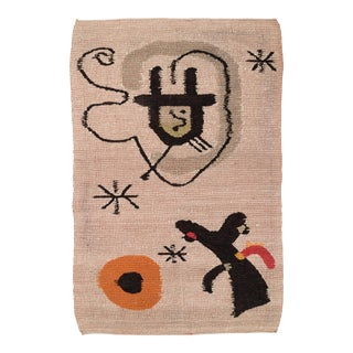 Tapestry in the Style of Miro For Sale