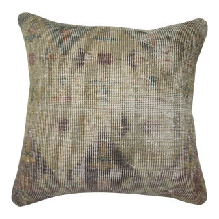 Shabby Chic Vintage Pillow, 19'' X 19'' For Sale