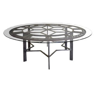Cast Iron Clock Face Table