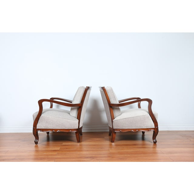 1940's Reupholstered Chair - Pair - Image 10 of 11