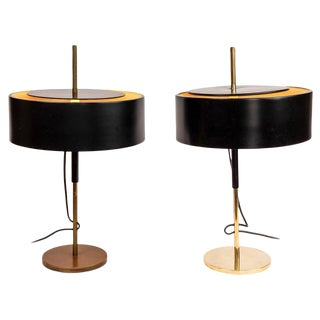1950s Giuseppe Ostuni 243 Table Lamps for O-Luce - a Pair For Sale