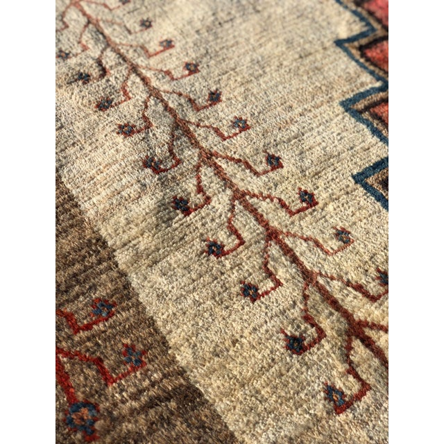 1970s Vintage Persian Gabbeh Rug - 4′9″ × 8′3″ For Sale - Image 12 of 13