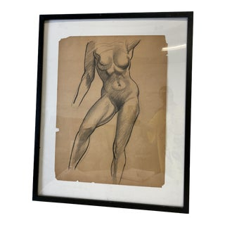 Female Nude Figurative Drawing For Sale