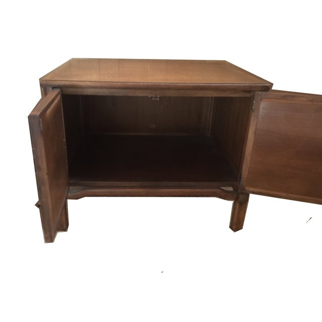 Mid-Century Modern Square Commode - Image 4 of 5