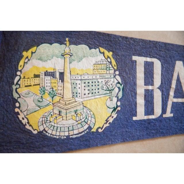 Americana Baltimore MD Felt Flag For Sale - Image 3 of 5