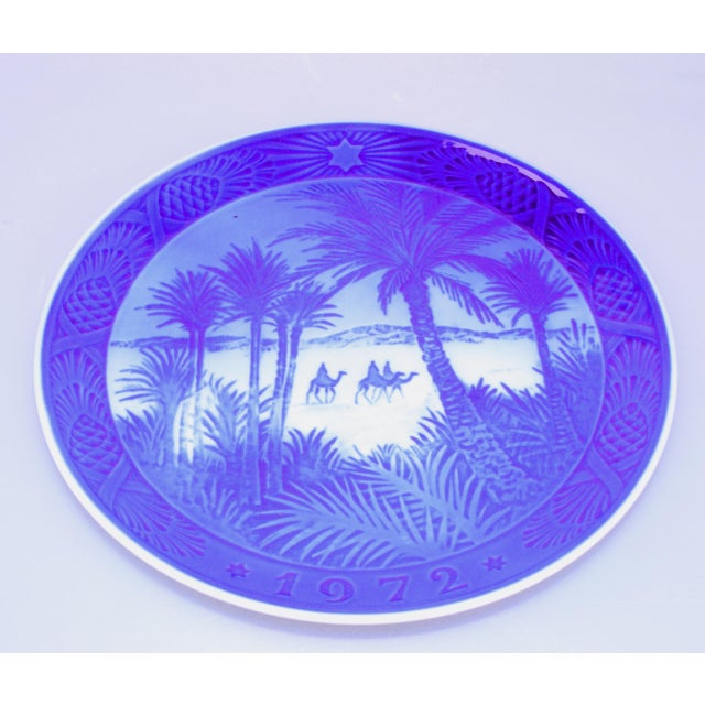 Country Royal Copenhagen Plate, 1972 For Sale - Image 3 of 4