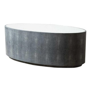 Grey Cara Cocktail Table For Sale
