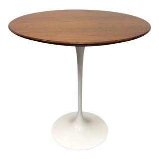 Knoll Saarinen Walnut Top Side Table