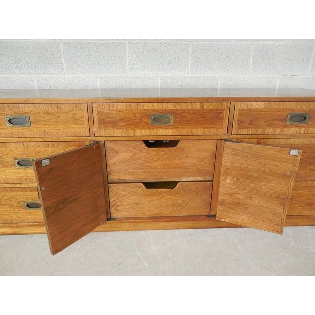 "John Stuart Campaign Style Credenza / Dresser 28.5""H x 76""W - Image 6 of 11"