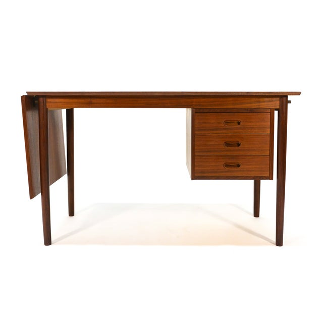 Arne Vodder for H. Sigh & Sons Drop-Leaf Desk - Image 8 of 8