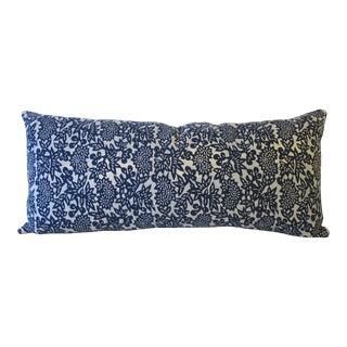 Long Batik Lumbar Pillow For Sale
