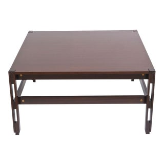 Italian Modern Palisander Low Table, Ico Parisi for MIM For Sale