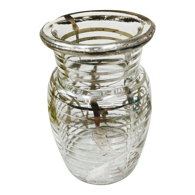 Antique Silver Overlay Vase Chairish