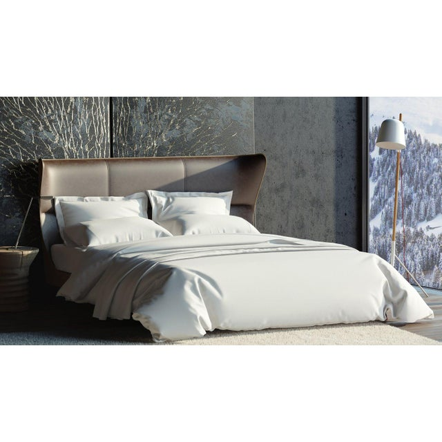 400 thread count, 100% extra long, extra fine combed cotton bedding for superior comfort while sleeping. Haute Couture...