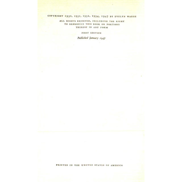 "Traditional 1947 ""When the Going Was Good"" Collectible Book For Sale - Image 3 of 7"