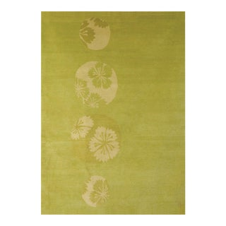 """Glimpse Flower"" Rug by Emma Gardner For Sale"