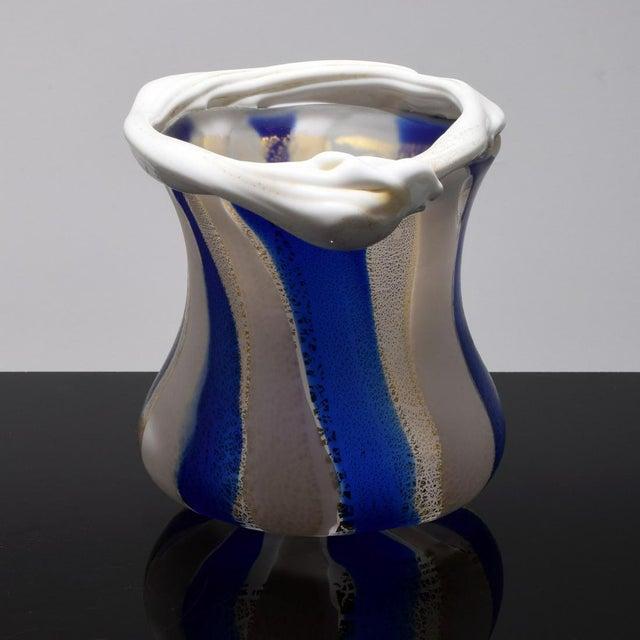 Japanese Art Glass Sculptural Vessel by Kyohei Fujita For Sale In Atlanta - Image 6 of 12