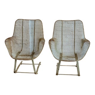 Russell Woodard Springer Chairs - a Pair For Sale