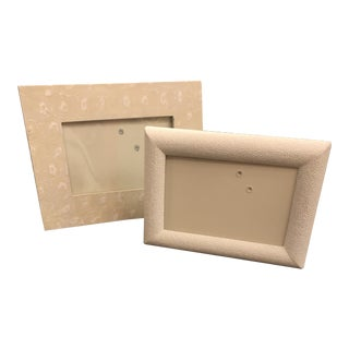 Pigeon and Poodle Picture Frames - Set of 2 For Sale
