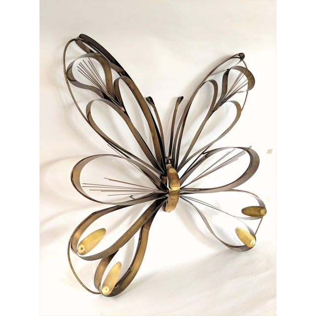 """Jere wall sculpture, Signed and dated 1974. Large size, 36""""H. A gorgeous example of mid century modern wall art. This..."""