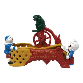 Cast Iron Mechanical Bank For Sale