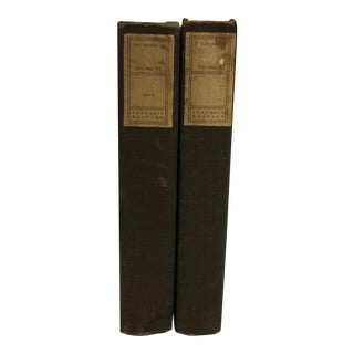 The Works of Henry Fielding 1903 Two Volumes For Sale