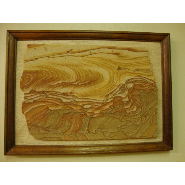 Mid-Century Sandstone Slab Wall Art - Image 2 of 5