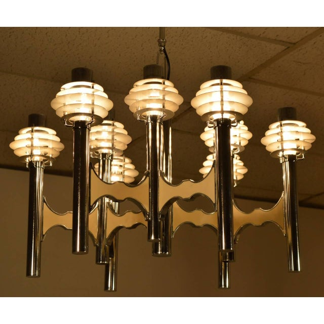 Mid-Century Ceiling Lamp by Gaetano Sciolari For Sale - Image 6 of 7