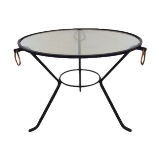Jacque Adnet Coffee Table For Sale
