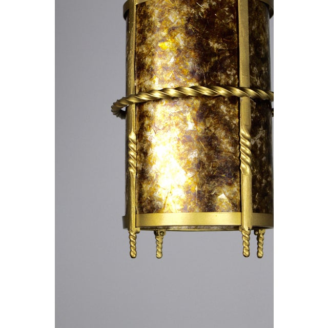 Spanish Colonial Mica Cylinder For Sale In Washington DC - Image 6 of 8