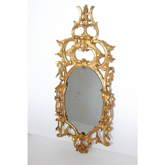 Chippendale George III Chippendale Style Pier Glass Mirror For Sale - Image 3 of 13