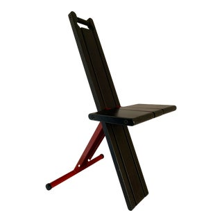 Postmodern Memphis Style Folding Chair - Terje Ekstrøm Chair For Sale