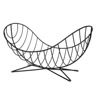 Ferris-Shacknove Twin Scoop Wire Fruit Basket For Sale