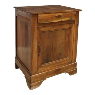 19th Century Louis Philippe Walnut Confiturier For Sale