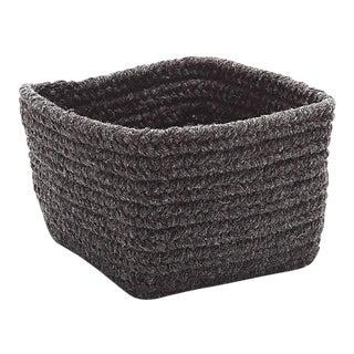 Natural Shelf Square Basket 11x11x8 Dark Brown